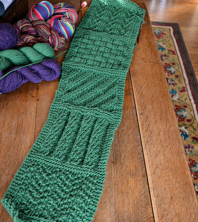 Knitting Pattern For Sampler Scarf : Ravelry: You CAN Do It Sampler Scarf pattern by Jean Barresi