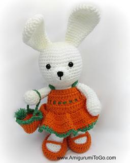 Amigurumi Bunny Sharon Ojala : Ravelry: Carrot Dress pattern by Sharon Ojala