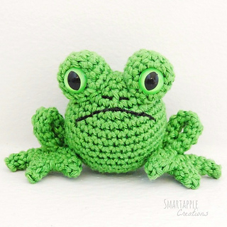 Free Amigurumi Crochet Frog Patterns : Ravelry: Fred the Amigurumi Frog pattern by Maarja Harsing ...