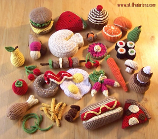 Ravelry: Still Vauriens - Dinette au crochet pattern by ...
