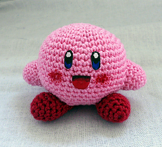 Crochet Patterns Amigurumi Monkey : Ravelry: Kirby pattern by Leyla Stormrage
