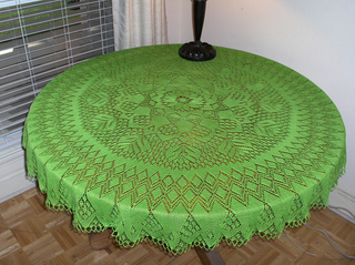 Ravelry Knitted Lace Doily C1940 S Semco Fairy Knitting