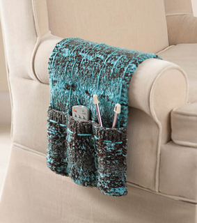 Knitting Pattern Remote Control Holder : Ravelry: Armchair Caddy pattern by Jo-Ann Fabric and Craft Stores