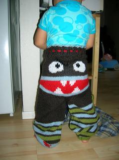 Ravelry: Grumpybum Monster Longies pattern by Wandering Lady