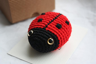 Ravelry: Amigurumi ladybug pattern pattern by HappyAmigurumi