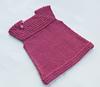 вязаное мини- платье спицами для девочки 2-3 года. как связать платье.
