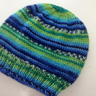 Ravelry Child S Self Striping Hat Pattern By Janet D Russell