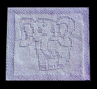 Elephant Washcloth Knitting Pattern : Ravelry: Elephant Baby Lazy Cloth pattern by Wineta