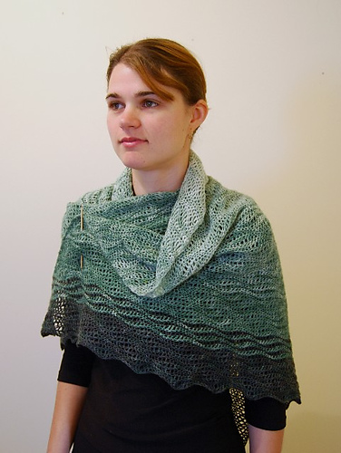 Vera Shawl by Katie Grady 