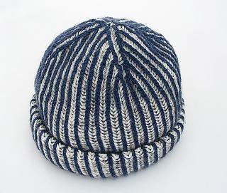 a98aeadcad3 Ravelry two color brioche hat pattern yana ivey jpg 320x271 Brioche knit hat