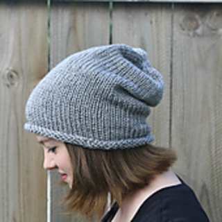 Ravelry: Simple Slouch Hat pattern by Robyn Devine