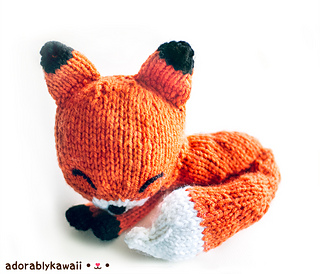 Fox Amigurumi Ravelry : Ravelry: Knit Sleepy Fox Amigurumi pattern by Amanda Michelle
