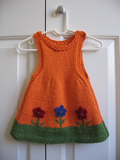 Knitted Dress Pattern For 2 Year Old : Ravelry: Anouk as a Dress pattern by Alison Reilly