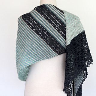 Yemaya Shawl pattern by Ambah O'Brien