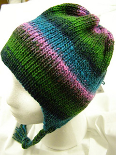 Ravelry: Machine Knit Chunky Earflap Hat pattern by Roni Knutson