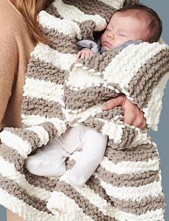 Ravelry: In A Wink Baby Blanket pattern by Bernat Design ...