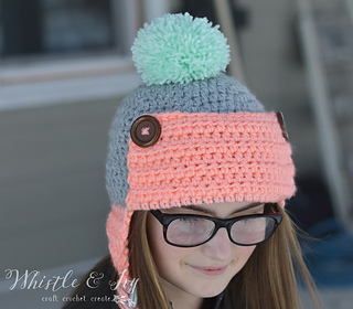 Ravelry Women S Trapper Hat Pattern By Bethany Dearden