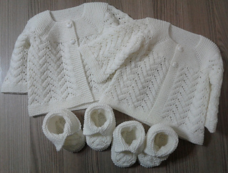 Ravelry: Baby Lace Cardigan pattern by Beyhan cayir