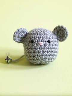 Amigurumi Yarn Ply : Ravelry: Amigurumi Mouse Cat Toy #80060AD pattern by Lion ...