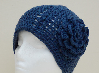 Ravelry: Double crochet and shell beanie pattern by ...