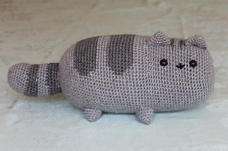 Amigurumi De Pusheen : Ravelry: Pusheen the cat pattern by EmmasAnimalCreations