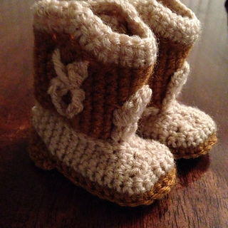 Ravelry: Baby Cowboy Booties pattern by Michael Sellick