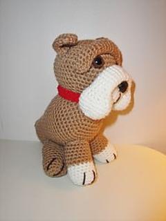 Amigurumi Bulldog Pattern : Ravelry: Old English Bulldog pattern by Chiwaluv Amigurumi ...