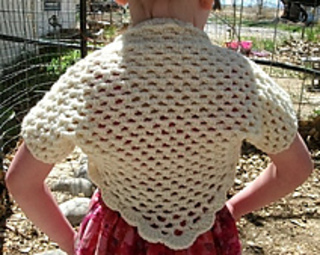 Ravelry: Crochet Girls Shrug pattern by Copper Llama Studio