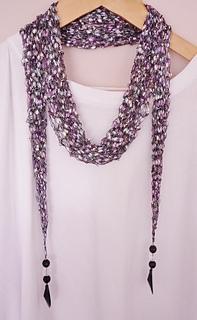 Free Knitting Patterns For Skinny Scarves : Ravelry: ribbon ladder long skinny SCARF pattern by Alison Hogg
