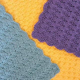 Crochet Flower Pattern Rose By Rachel Choi : Ravelry: 3 Solid Blanket Stitches pattern by Rachel Choi