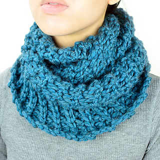 Ravelry: Broomstick Winter Infinity Scarf pattern by ...