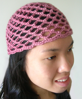 Crochet Flower Pattern Rose By Rachel Choi : Ravelry: Mesh Lace Beanie pattern by Rachel Choi