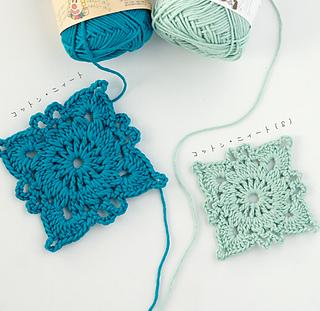 Pierrot Yarn Free Crochet Patterns : Ravelry: 665mf Cotton Neat Motif pattern by Pierrot (Gosyo ...