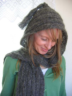 Cleckheaton Knitting Patterns : Ravelry: Hooded Soft Scarf pattern by Kathy North