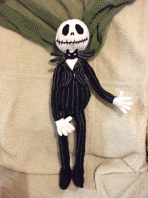 Knitting Pattern Jack Skellington : Anything Knitted and Crocheted: I was on Ravelry this morning, specifically t...