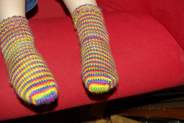 Tyler's socks