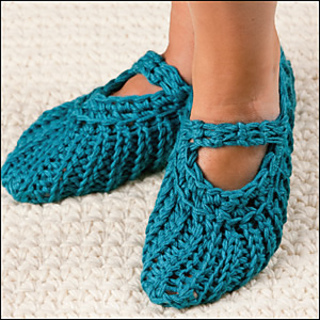 Ravelry Pocketbook Slippers Pattern By Ariana Thompson