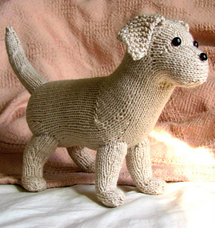 Free Knitting Patterns Animals : Ravelry: Rufus the Lab Puppy pattern by Dyah Dyanita