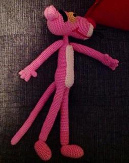 Amigurumi Free Pattern Pink Panther : Ravelry: Pink Panther Amigurumi pattern by Edward Yong