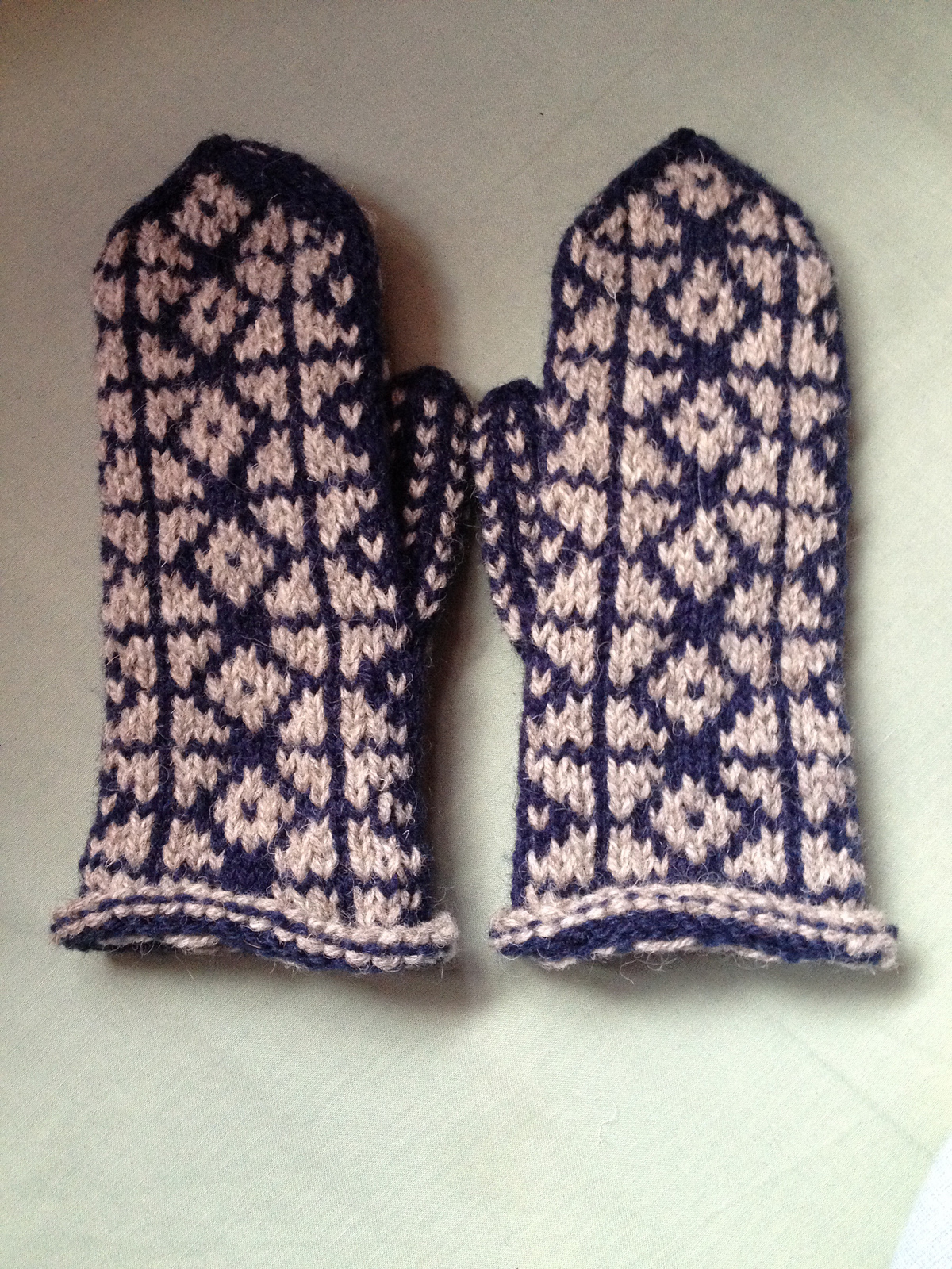Icy Water Mittens