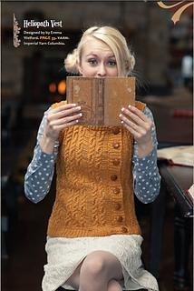 Ravelry Heliopath Vest Pattern By Emma Welford