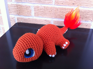 Charmander Amigurumi Free : Ravelry: Baby Charmander pattern by Evelyn Pham