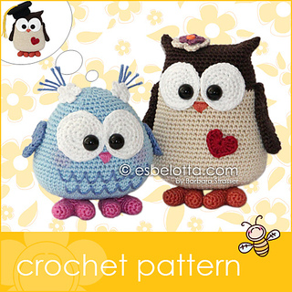 Ravelry: Mama and Baby Owl pattern by Barbara Strasser