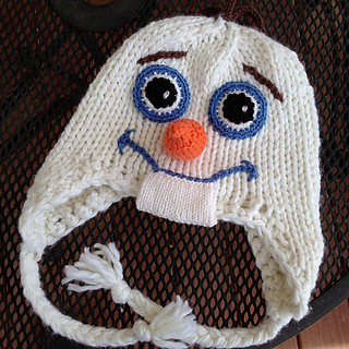 Knitting Pattern Olaf Hat : Ravelry: Snow Man Hat pattern by Amy Gillespie