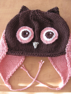 Ravelry: Owl Hat pattern by Amy Gillespie