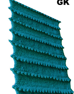 DROPS Knitting Tutorial: How to knit a pleat - YouTube