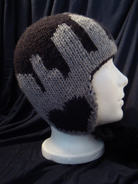 Knitting Pattern Beanie Hat Double Knitting : double knit earflap hats   giftable designs