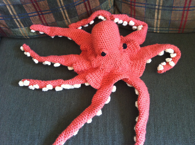 Crochet Patterns Octopus : ... especially by instruction english been crocheting the octopus large