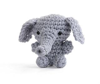 Ravelry: Amigurumi Mini Elephant pattern by Carolyn Christmas