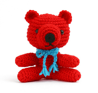 Gourmet Crochet Amigurumi Dinosaurs : Ravelry: Amigurumi Bear pattern by Carolyn Christmas
